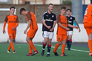Dundee under 20s v Dundee United 29-08-2017