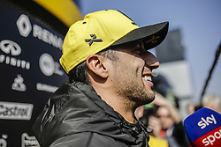 February 21, 2019 - Barcelona, Barcelona, Spain - Daniel Ricciardo from Australia with 03 Renault F1 Team RS19 portrait during the Formula 1 2019 Pre-Season Tests at Circuit de Barcelona - Catalunya in Montmelo, Spain on February 21, 2019. (Credit Image: © Xavier Bonilla/NurPhoto via ZUMA Press)
