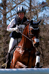 March 22, 2019 - Raeford, North Carolina, US - March 23, 2019 - Raeford, N.C., USA - ALEXANDRA KNOWLES of the United States riding MS. POPPINS competes in the cross country CCI-4S division at the sixth annual Cloud 11-Gavilan North LLC Carolina International CCI and Horse Trial, at Carolina Horse Park. The Carolina International CCI and Horse Trial is one of North AmericaÃ•s premier eventing competitions for national and international eventing combinations, hosting International competition at the CCI2*-S through CCI4*-S levels and National levels of Training through Advanced. (Credit Image: © Timothy L. Hale/ZUMA Wire)