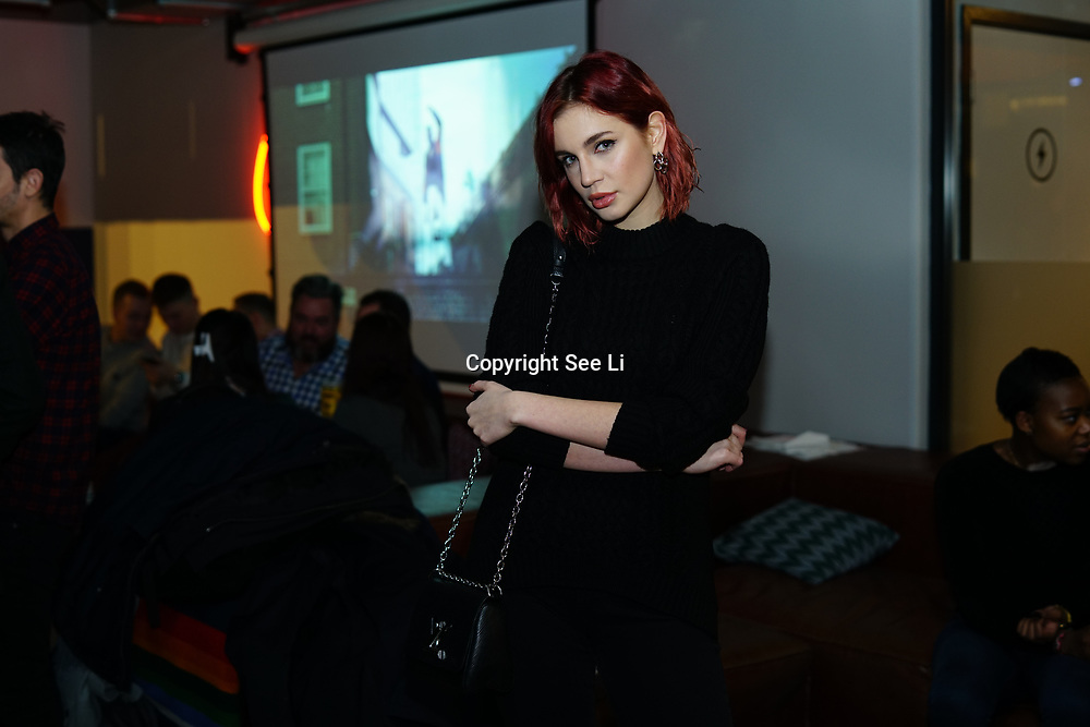 London, England, UK. 1st December 2017. Nikita Andrianova is a Creative Director attends Sagaboi Magazine: Men's Style 2017 - book launch held at WeWork Old Street.
