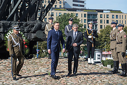 September 17, 2016 - Warsaw, Poland - President of Poland, Andrzej Duda during the Anniversary of Soviet invasion of Poland on 1939 in Warsaw, Poland on 17 September 2016  (Credit Image: © Mateusz Wlodarczyk/NurPhoto via ZUMA Press)