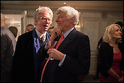 SIR PETER STOTHARD; GEOFFREY ROBERTSON, Fortnum and Mason and Quartet books host a celebration for the publication of  The White Umbrella by Brian Sewell. Illustrated by Sally Ann Lasson. Fortnum and Mason. Piccadilly. London. 3 March 2015.