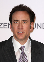 'The Frozen Ground' London Premiere.<br /> Actor Nicolas Cage at the Premiere of their latest film ''The Frozen Ground', in London's Leicester Square,<br /> London, United Kingdom<br /> Wednesday, 17th July 2013<br /> Picture by i-Images