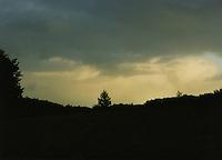 Rural sunset Ireland
