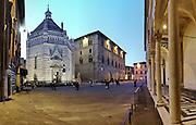 Battistero di San Giovanni in corte in Piazza del Duomo a Pistoia, Capitale della Cultura italiana 2017