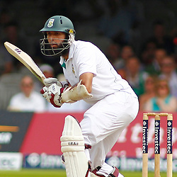 19/08/2012 London, England. South Africa's Hashim Amla batting during the third Investec cricket international test match between England and South Africa, played at the Lords Cricket Ground: Mandatory credit: Mitchell Gunn