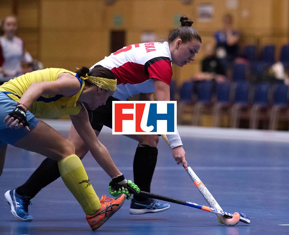 BERLIN - Indoor Hockey World Cup<br /> Poland - Kazachstan<br /> foto: WISNIEWSKA Natalia<br /> WORLDSPORTPICS COPYRIGHT FRANK UIJLENBROEK