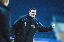 Dumbarton's player-manager Ian Murray..Falkirk v Dumbarton, 16/4/2013.