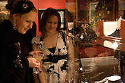 NINA ZJOERBA, Imperial and Royal Presents. Russian auction. Sotheby's. New Bond St. London. 23 November 2008.  *** Local Caption *** -DO NOT ARCHIVE-© Copyright Photograph by Dafydd Jones. 248 Clapham Rd. London SW9 0PZ. Tel 0207 820 0771. www.dafjones.com.