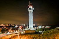 Noord-Holland bij nacht, aankleding, Egmond aan zee prachtstad