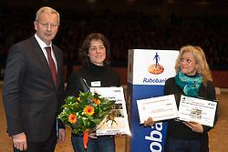 Beijer JM, De Kleijn fokkers van Jerich Parzival<br /> KWPN Hengstenkeuring - 's Hertogenbosch 2012<br /> © Dirk Caremans