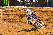 Agueda, Portugal, 5th May 2013, World Championship MX1, Italian Antonio Cairoli with a KTM, 3rd race 1 and  1st in race 2