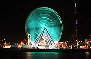 Giant Sky Ferris Wheel.Water Front City, Docklands, Melbourne, Victoria.24th March 2006.(C) Joel Strickland Photographics.Use information: This image is intended for Editorial use only (e.g. news or commentary, print or electronic). Any commercial or promotional use requires additional clearance.
