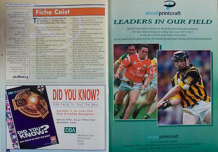 All Ireland Senior Hurling Championship - Final, .12.09.1999, 09.12.1999, 12th September 1999,.12091999AISHCF,.Senior Kilkenny v Cork,.Minor Galway v Tipperary, .Cork 0-13, Kilkenny 0-12,.DBA Publications Limited,