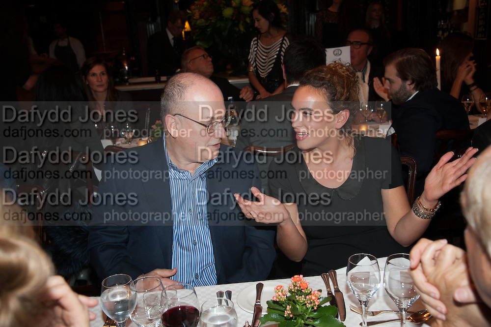 STEVEN COHEN; KYVELI ALEXIOU, Opening of Morris Lewis: Cyprien Gaillard. From Wings to Fins, Sprüth Magers London Grafton St. London. Afterwards dinner at Simpson's-in-the-Strand hosted by Monika Spruth and Philomene Magers.