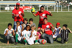 Copa Coca-Cola 2013 no complexo esportivo Aldo Silva, em Florianópolis. FOTO: Cristiano Estrela/Preview.com