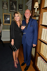 VISCOUNT & VISCOUNTESS DAVENTRY at an evenig of Jewellery & Photography to launch the Buccellati 'Opera Collection' held at Spencer House, London on 21st October 2015.