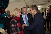 VICTOR PINCHUK; OLENA PINCHUK; JEFF KOONS, Frieze. Regent's Park. London. 17 October 2013