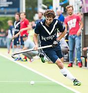 AMSTELVEEN - Diego Arana (Pinoke)   Play Outs Hockey hoofdklasse. Pinoke-Nijmegen (1-1) . Pinoke wint de shoot outs en blijft in de hoofdklasse. COPYRIGHT KOEN SUYK
