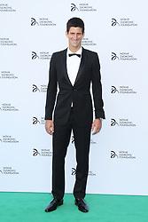 © Licensed to London News Pictures. Novak Djokovic at the Novak Djokovic Foundation London gala dinner, The Roundhouse, London UK, 08 July 2013. Photo credit: Richard Goldschmidt/LNP
