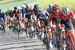 June 17, 2017 - Schaffhausen, Suisse - SCHAFFHAUSSEN, SWISS - JUNE 17 : GILBERT Philippe (BEL) Rider of Quick-Step Floors Cycling team, SAGAN Peter (SVK) Rider of Team Bora - Hansgrohe, MATTHEWS Michael (AUS) Rider of Team Sunweb, WELLENS Tim (BEL) Rider of Team Lotto - Soudal during stage 8 of the Tour de Suisse cycling race, a stage of 100 kms between Schaffhaussen and Schaffhaussen on June 17, 2017 in Schaffhaussen, Swiss, 17/06/2017 (Credit Image: © Panoramic via ZUMA Press)