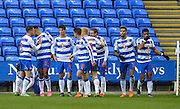 Reading midfielder Lucas Piazon opens the scoring during the Sky Bet Championship match between Reading and Bolton Wanderers at the Madejski Stadium, Reading, England on 21 November 2015. Photo by Adam Rivers.