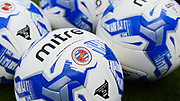 Reading FC practice balls ahead of the EFL Sky Bet Championship match between Nottingham Forest and Reading at the City Ground, Nottingham, England on 22 April 2017. Photo by Jon Hobley.