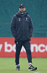 LIVERPOOL, ENGLAND - Tuesday, April 16, 2019: Liverpool's manager Jürgen Klopp during a training session at Melwood Training Ground ahead of the UEFA Champions League Quarter-Final 2nd Leg match between FC Porto and Liverpool FC. (Pic by Laura Malkin/Propaganda)