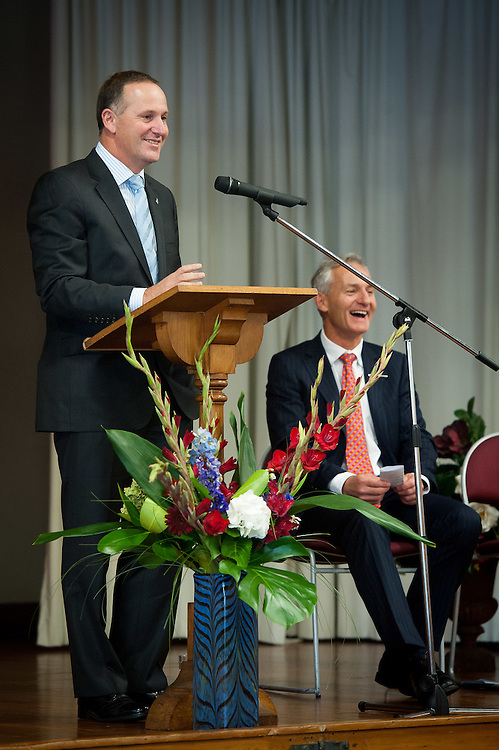 Wellesley College library opening by the right honorable John Key. Wednesday 21st March 2012..Photo by Mark Tantrum | www.marktantrum.com