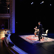 NHPR's Virginia Prescott interviews Daniel Silva at The Music Hall, July 20, 2016
