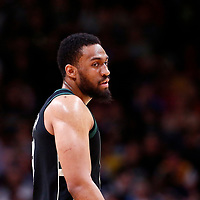 01 April 2018: Milwaukee Bucks forward Jabari Parker (12) is seen during the Denver Nuggets 128-125 victory over the Milwaukee Bucks, at the Pepsi Center, Denver, Colorado, USA.