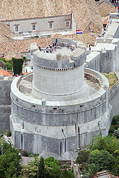 21.06.2015, Dubrovnik, CRO, Dubrovnik ist eine Stadt im südlichen Kroatien an der Adria, im Bild Panoramic view of Dubrovnik from Srdj Mountain. Minceta Tower // is a city in southern Croatia on the Adriatic Sea, pictured on 17. June in Dubrovnik, Croatia on 2015/06/21. EXPA Pictures © 2015, PhotoCredit: EXPA/ Pixsell/ Grgo Jelavic<br /> <br /> *****ATTENTION - for AUT, SLO, SUI, SWE, ITA, FRA only*****