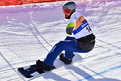 POLLARD Sean, SB-UL, AUS, Snowboard Cross at the WPSB_2019 Para Snowboard World Cup, La Molina, Spain