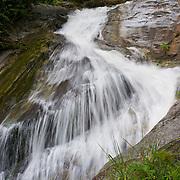 Sai Boe Waterfall (also known as Cyber Waterfalll)  in the Huai Kha Khaeng Wildlife Sanctury in Thailand.