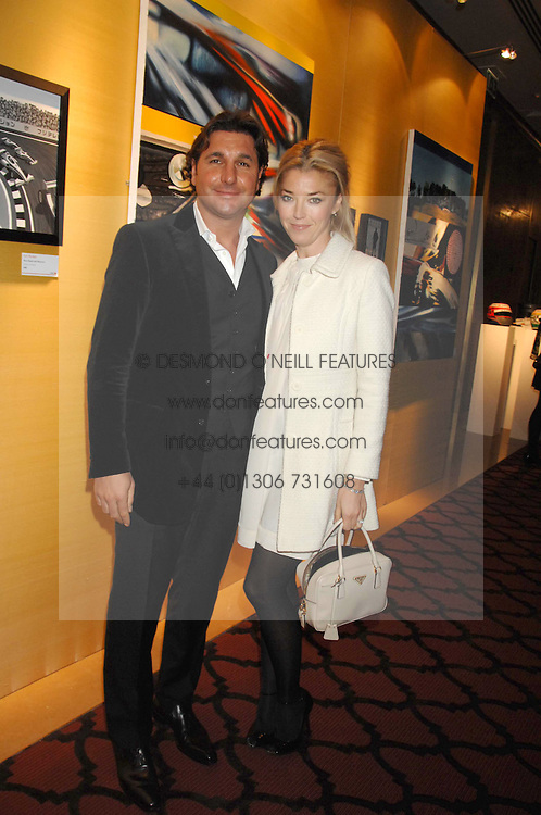 GEORGE & TAMARA VERONI  at a party to celebrate the first year if ING's sponsorship of the Renault Formula 1 team, held at the Mayfair Hotel, Stratton Street, London W1 on 28th November 2007.<br /><br />NON EXCLUSIVE - WORLD RIGHTS