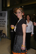 Nina Young. Cocktail party celebrating Born Free Foundation 21 years anniversary.  Royal Geographical Society, Kensington Gore. 14 march 2005. ONE TIME USE ONLY - DO NOT ARCHIVE  © Copyright Photograph by Dafydd Jones 66 Stockwell Park Rd. London SW9 0DA Tel 020 7733 0108 www.dafjones.com