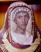 Artemidorus. 2nd century encaustic coffin portrait. Roman. British Museum, London