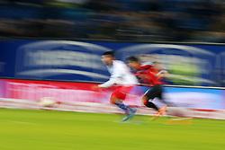 Football: Germany, 1. Bundesliga<br /> Fussballer, Illustration, Ballsport, Ballspiel, Aktion, action, speed, Zweikampf,