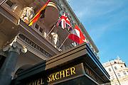 Hotel Sacher, Wien, Österreich.|.Hotel Sacher, Vienna, Austria