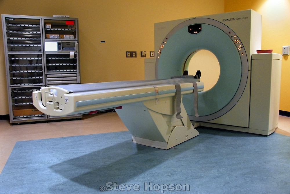 The ER room's CT scan at the Dell Children's Medical Center of Central Texas in Austin Texas at its Grand Opening, June 26, 2007.