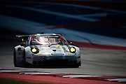 September 17, 2016: IMSA at Circuit of the Americas. #912 Earl Bamber, Frederic Makowiecki, Porsche North America, Porsche 911 RSR GTLM