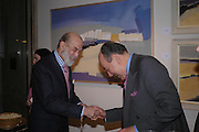 Prince Michael of Kent and Aziz Radwan. 'The Road to Abtsraction' an exhibition of paintings by Rosita Marlborough. the Fleming Collection. 13 Berkeley St. London W1. 31 March 2005. ONE TIME USE ONLY - DO NOT ARCHIVE  © Copyright Photograph by Dafydd Jones 66 Stockwell Park Rd. London SW9 0DA Tel 020 7733 0108 www.dafjones.com