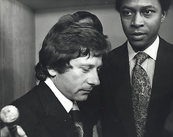Apr 15, 1977; Los Angeles, CA, USA; Director ROMAM POLANSKI in an LA courtroom during his rape case shortly before fleeing to France. Born August 18, 1933 Polanski is a celebrated Polish/French film director, actor. He pled guilty to statutory rape against a 13 year old girl in the United States and since then has avoided extradition and sentencing by remaining in France. In 2004, Polanski sued Vanity Fair magazine in London for libel, which he currently won July 2005, who alleged in 2002 that he had made sexual advances towards a young model as he was travelling to Sharon Tate's funeral (Polanksi's pregnant wife who was murdered by Charles Manson 'family' members in LA 1969). (Credit Image: © Keystone Press Agency/Keystone USA via ZUMAPRESS.com)