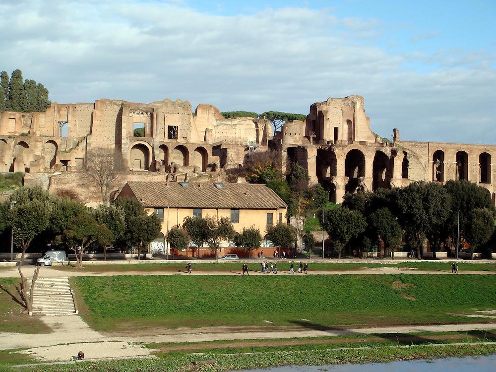 PALATINE & CIRCUS MAXIMUS, ROME ITALY