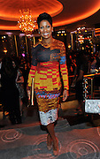 NBC News correspondent Tamron Hall attends the opening of the historic Rainbow Room at 30 Rockefeller Plaza, Wednesday, Oct. 1, 2014 in New York. (Photo by Diane Bondareff/Invision for Tishman Speyer/AP Images)