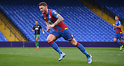 Connor Wickham starts his run during the Final Third Development League match between U21 Crystal Palace and U21 Bristol City at Selhurst Park, London, England on 3 November 2015. Photo by Michael Hulf.
