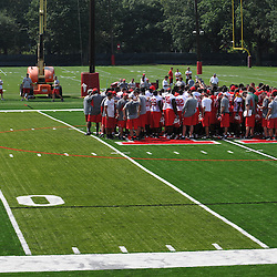 Aug 11, 2009; Piscataway, NJ, USA;  Rutgers football summer training camp day 1.