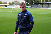 AFC Wimbledon midfielder Max Sanders (23) walking from pitch during the Leasing.com EFL Trophy match between AFC Wimbledon and Leyton Orient at the Cherry Red Records Stadium, Kingston, England on 8 October 2019.