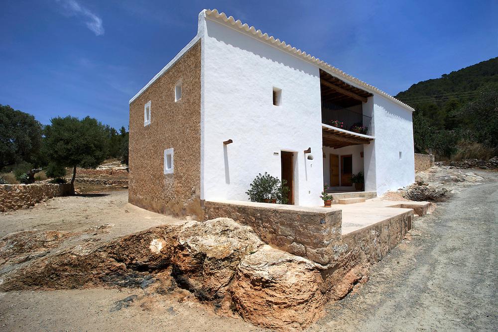 18/Junio/2009 Eivissa.Casa payesa de Ses Païsses de Cala d'Hort..© JOAN COSTA