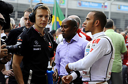 30.10.2011, Jaypee-Circuit, Noida, IND, F1, Grosser Preis von Indien, Noida, im Bild Lewis Hamilton (GBR), McLaren F1 Team // during the Formula One Championships 2011 Large price of India held at the Jaypee-Circui 2011-10-30  . EXPA Pictures © 2011, PhotoCredit: EXPA/ nph/ Dieter Mathis +++++ ATTENTION - OUT OF GERMANY/(GER), CROATIA/(CRO) +++++